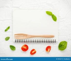 food background menu foods herbs ingredient various leaves blank banner preview
