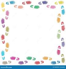 Foot Border Clip Art
