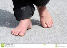 Foot Walking Stock Of Asphaltum Summer