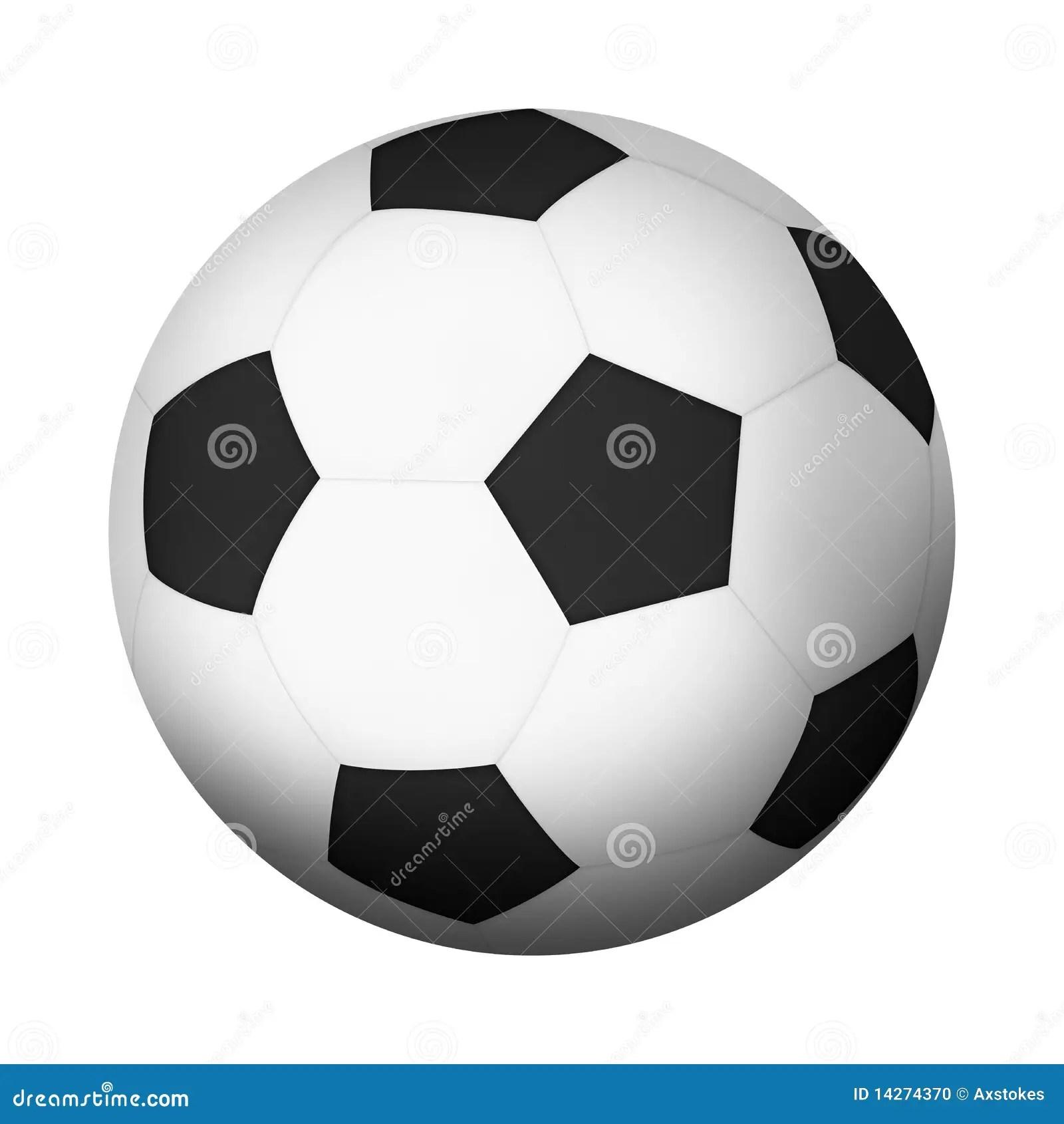 Football Stock Illustration Image Of Sphere Pentagon
