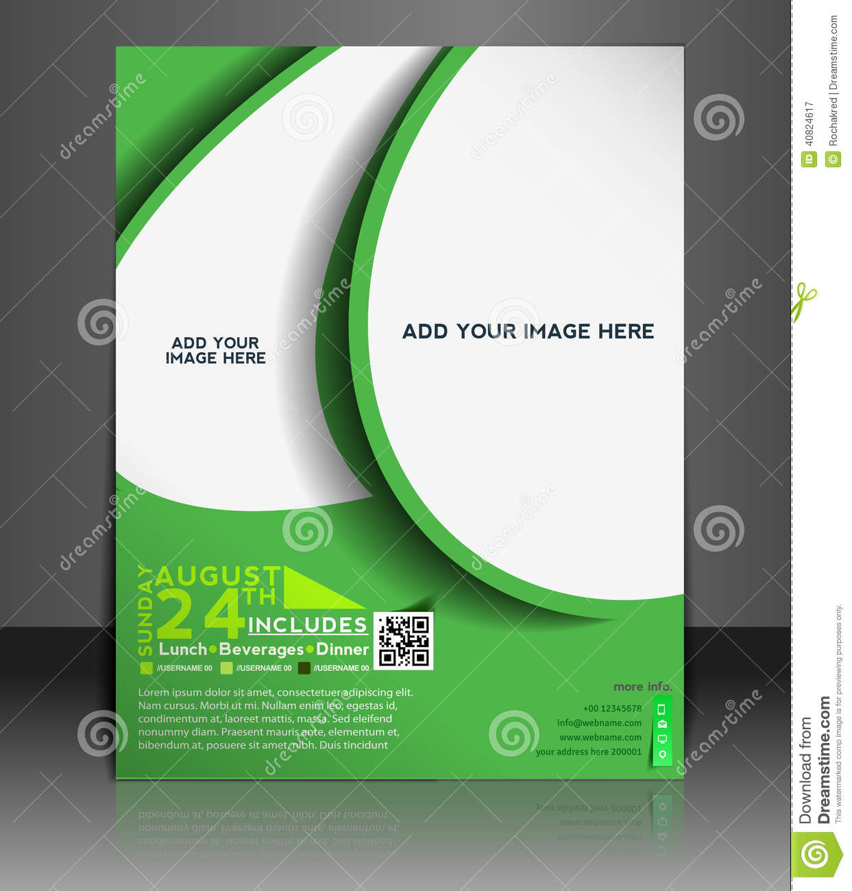 Football Competition Flyer Design Stock Vector - Illustration of ...