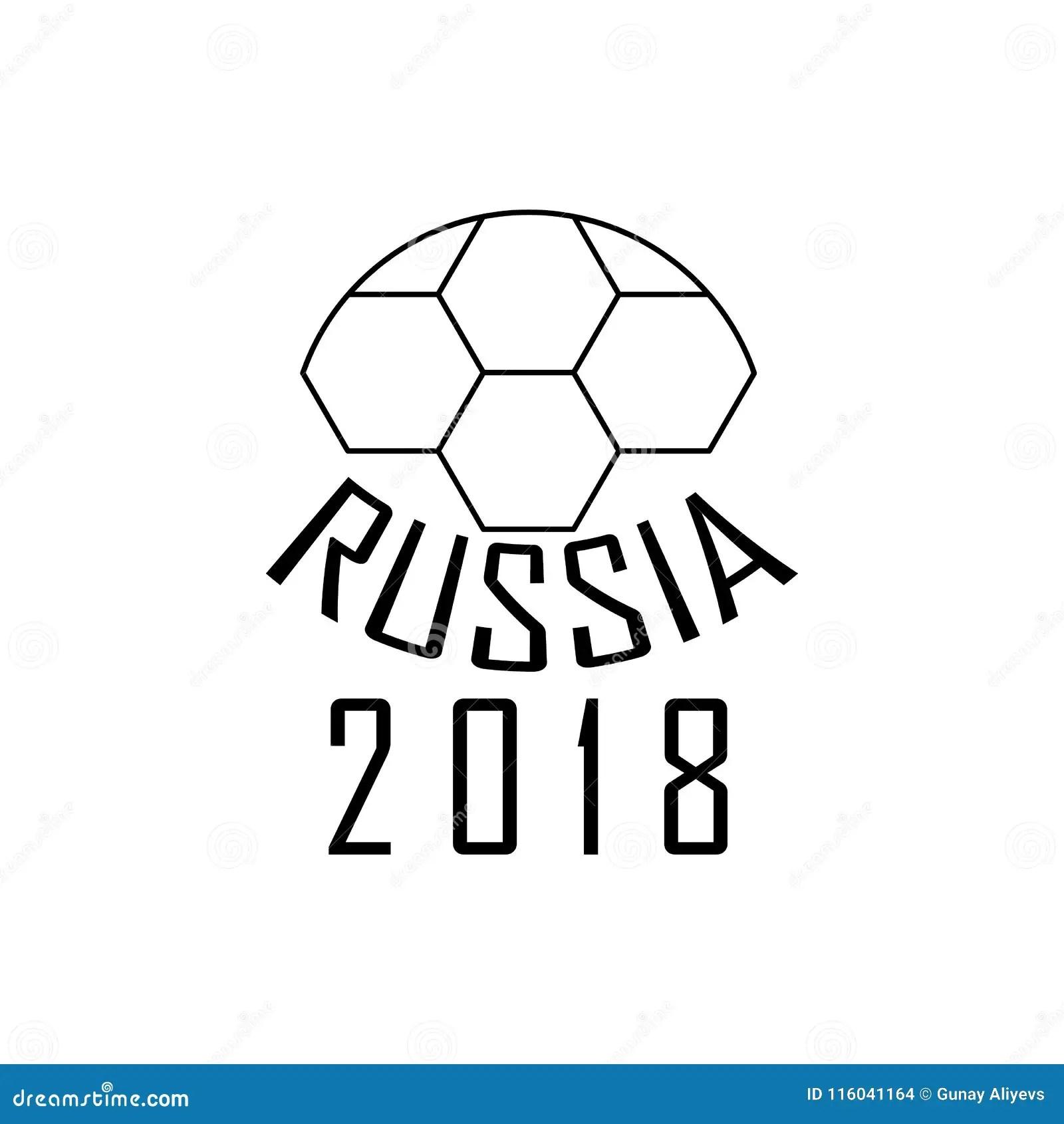Banner Football Match Mexico Vs Russia Cartoon Vector