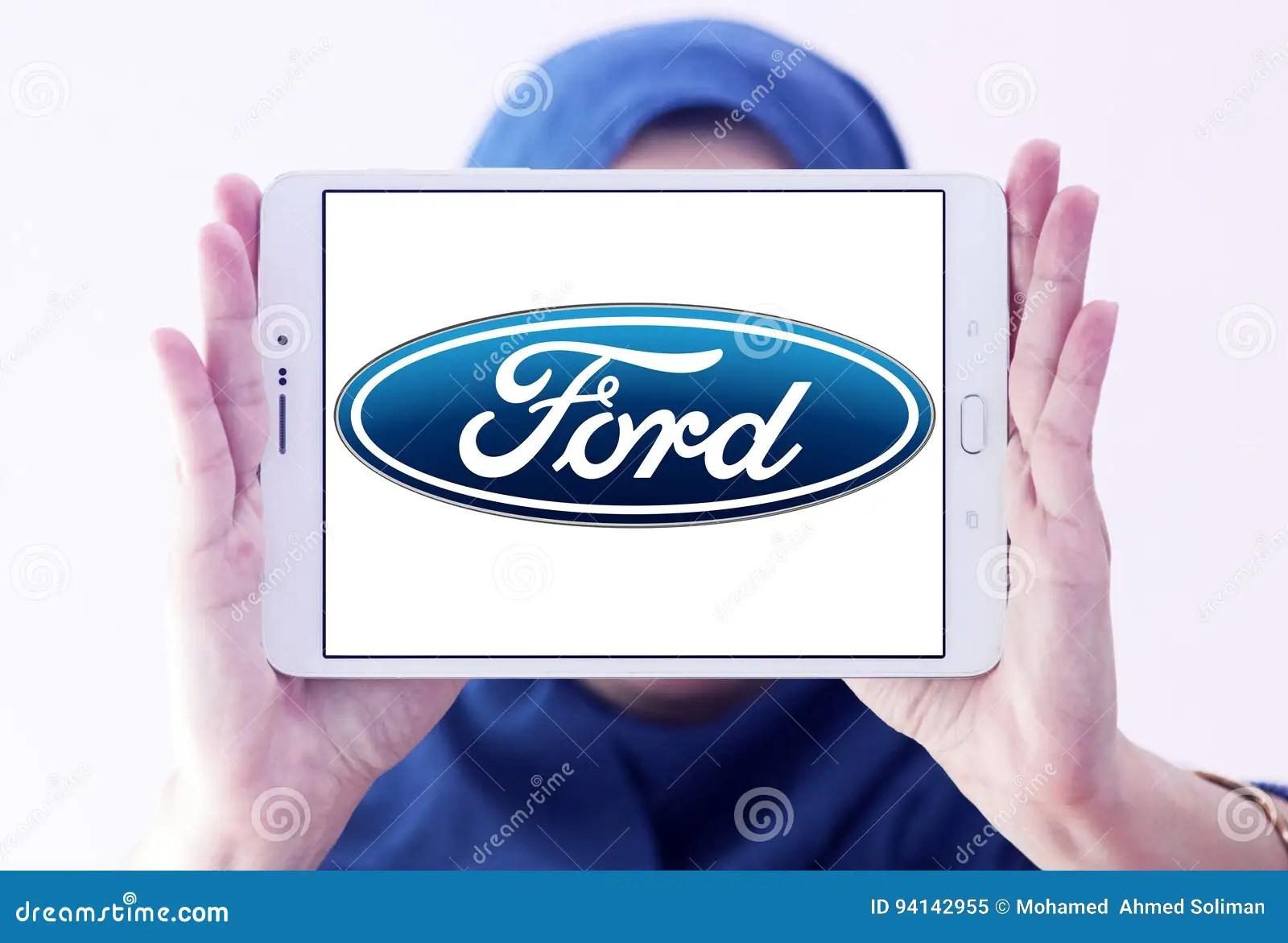 ford car logo editorial