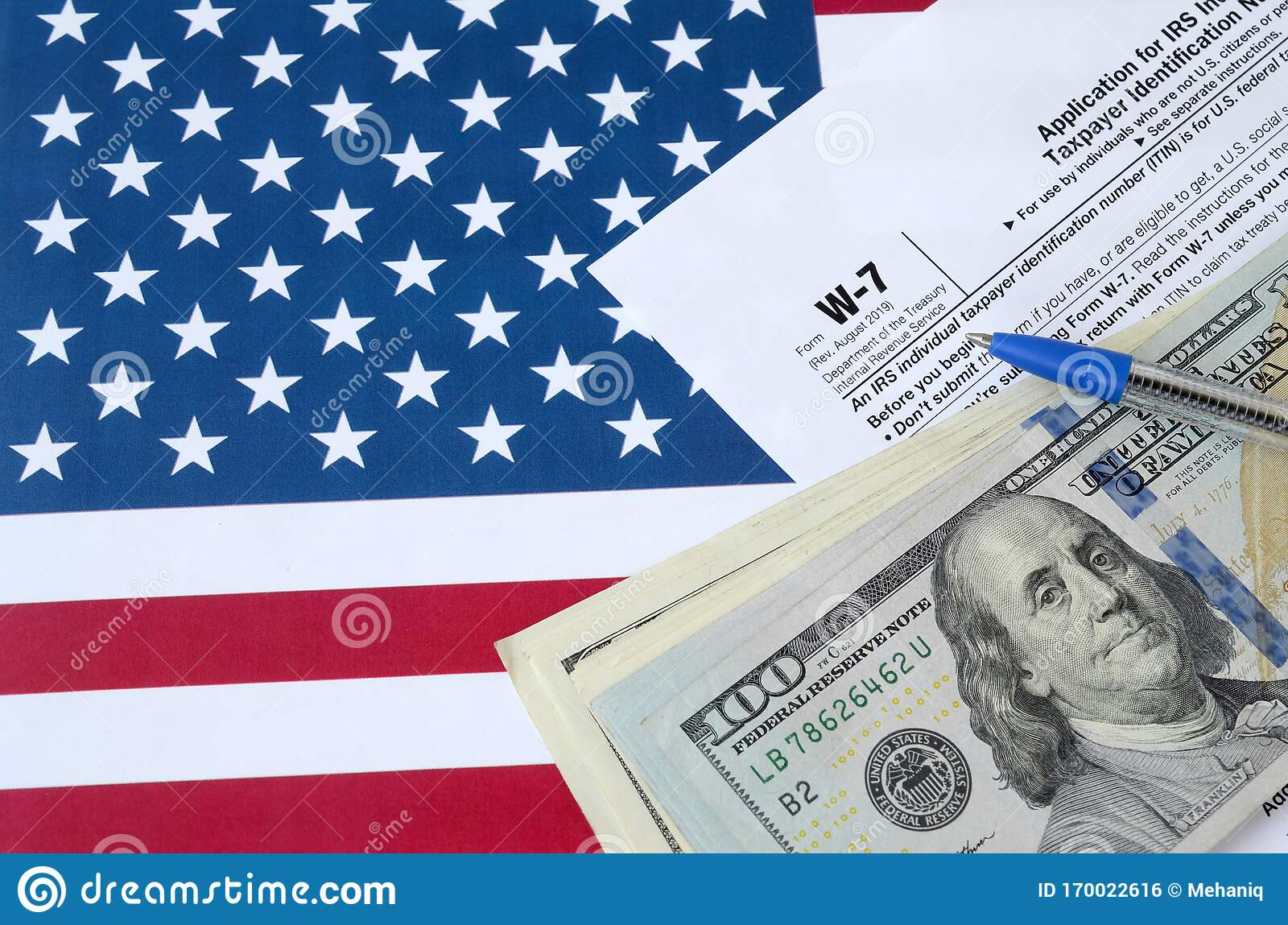 Form W 7 Application For Irs Individual Taxpayer