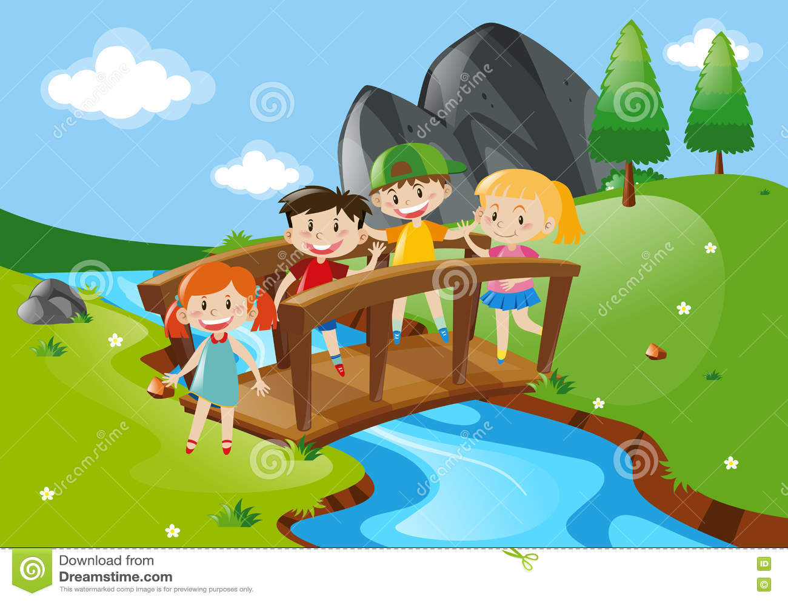 hight resolution of crossing bridge stock illustrations 3 614 crossing bridge stock illustrations vectors clipart dreamstime