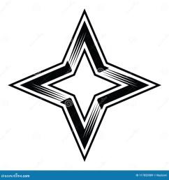 four point star 4pointstar four 4 points stars classy simple vector illustration clipart aics6 eps10 illustrator corel draw icon logo sticker emblem patch [ 1300 x 1390 Pixel ]