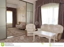 Fragment Of Interior Bedroom And Drawing Room