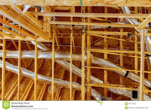 small resolution of the frame building or a house with basic electrical wiring