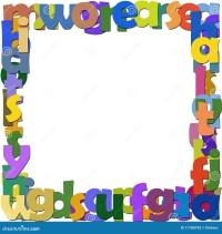 Frame letters stock illustration. Illustration of paint ...