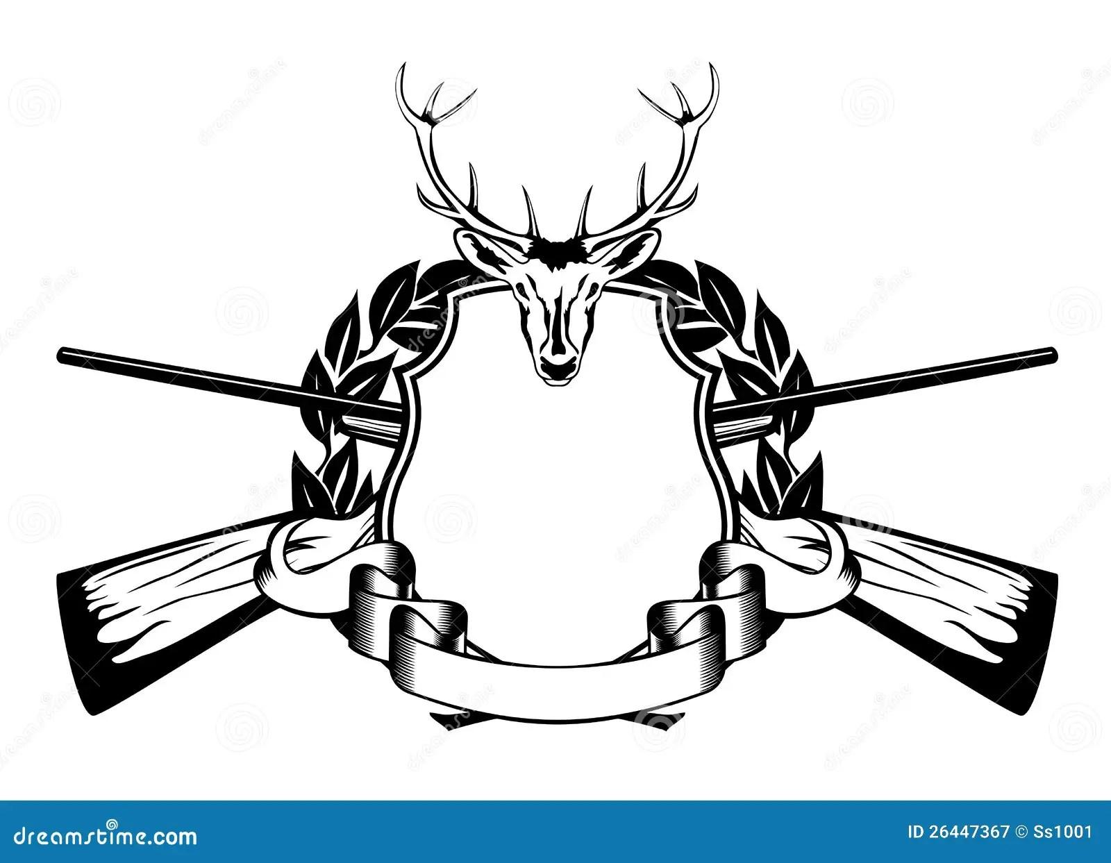Framework Hunting Theme Stock Vector Illustration Of