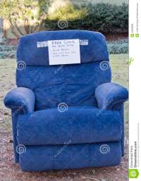 Free Chair With Funny Sign Stock Photo - Image: 49566888