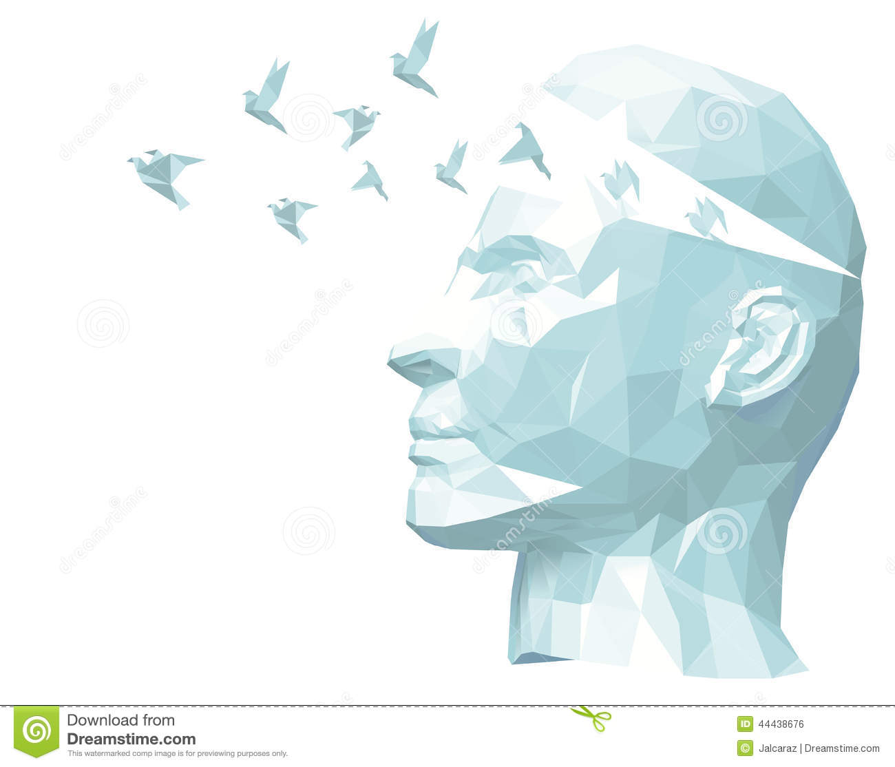 Free Your Mind Stock Vector  Image 44438676