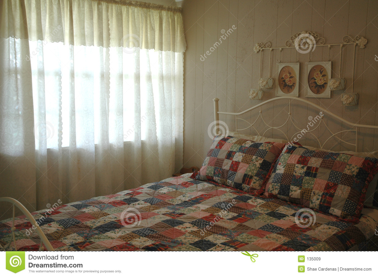 French Country Bedroom Royalty Free Stock Images  Image