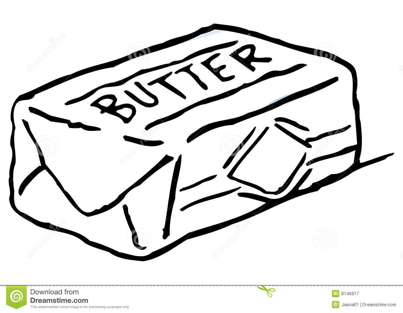 Fresh Butter Royalty Free Stock Photography