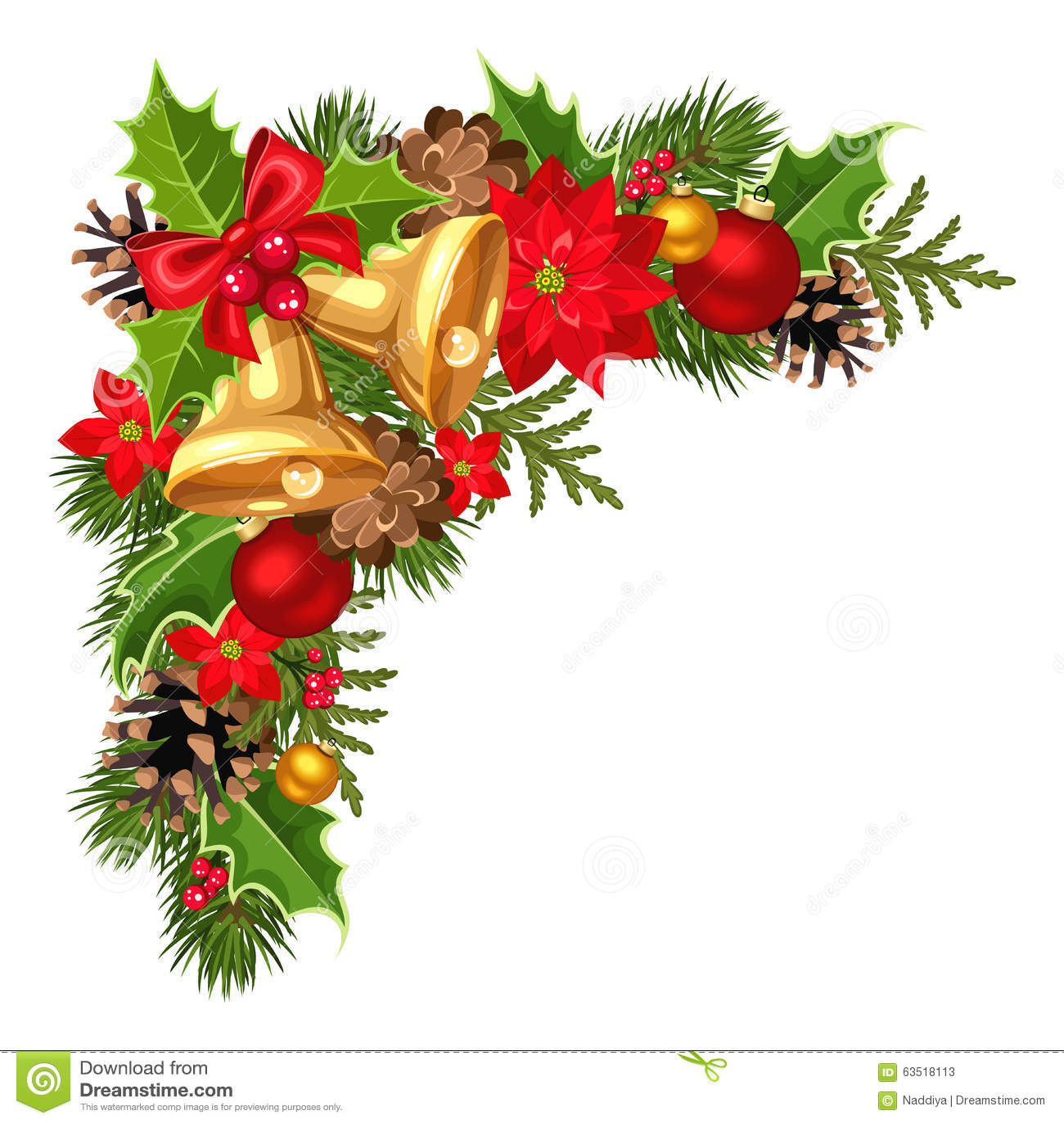 Frgrena Sig Det Dekorativa Hrnet Fr Jul Med Gran Trdet