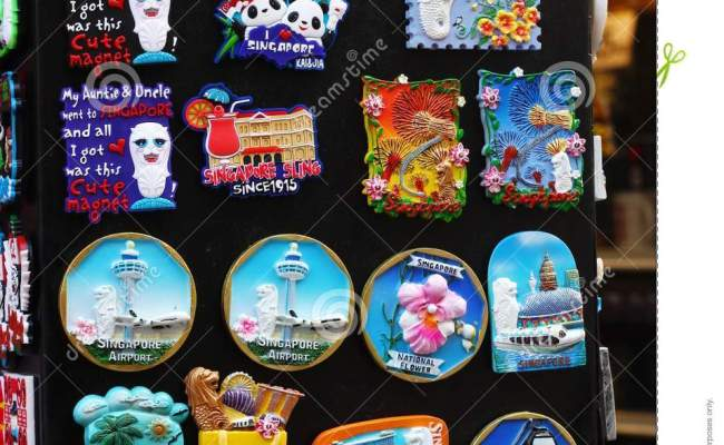 Fridge Magnets Gifts For Friends Stock Photo Image Of