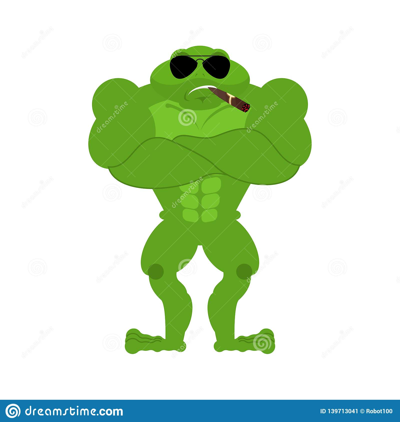 frog strong cool serious