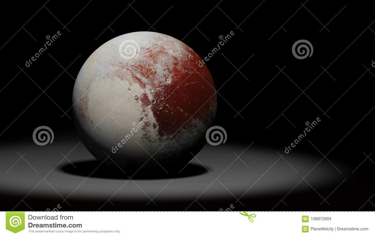 Dwarf Planet Pluto The Former Planet Solar System Set