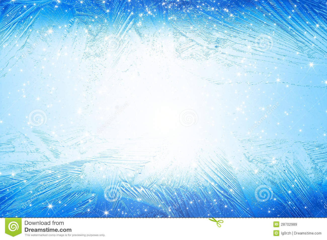 Frozen Window Stock Image Image Of Window Star Abstract