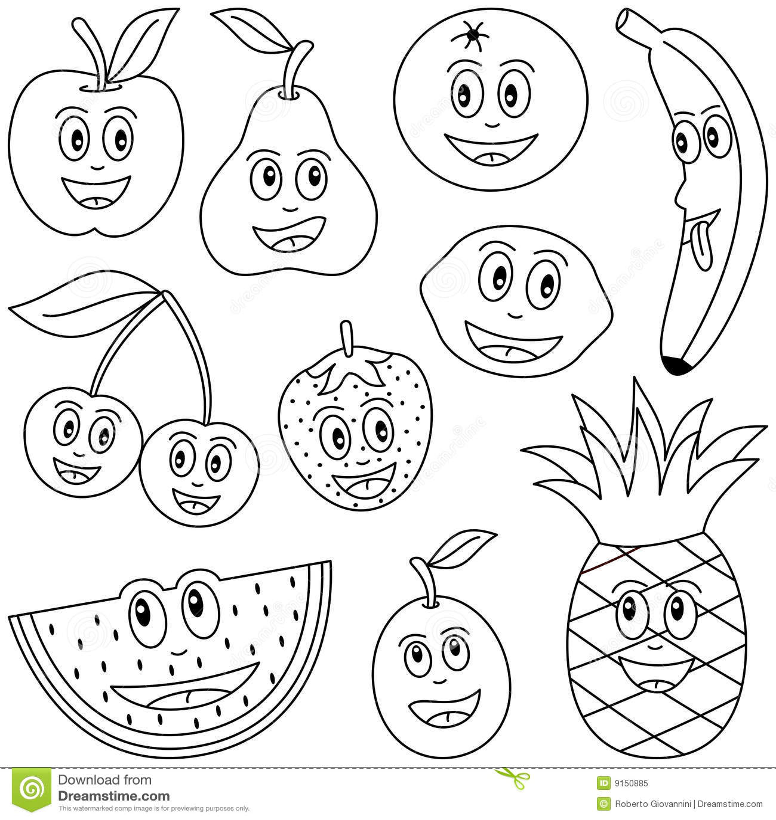 Fruta Da Coloracao Para Miudos