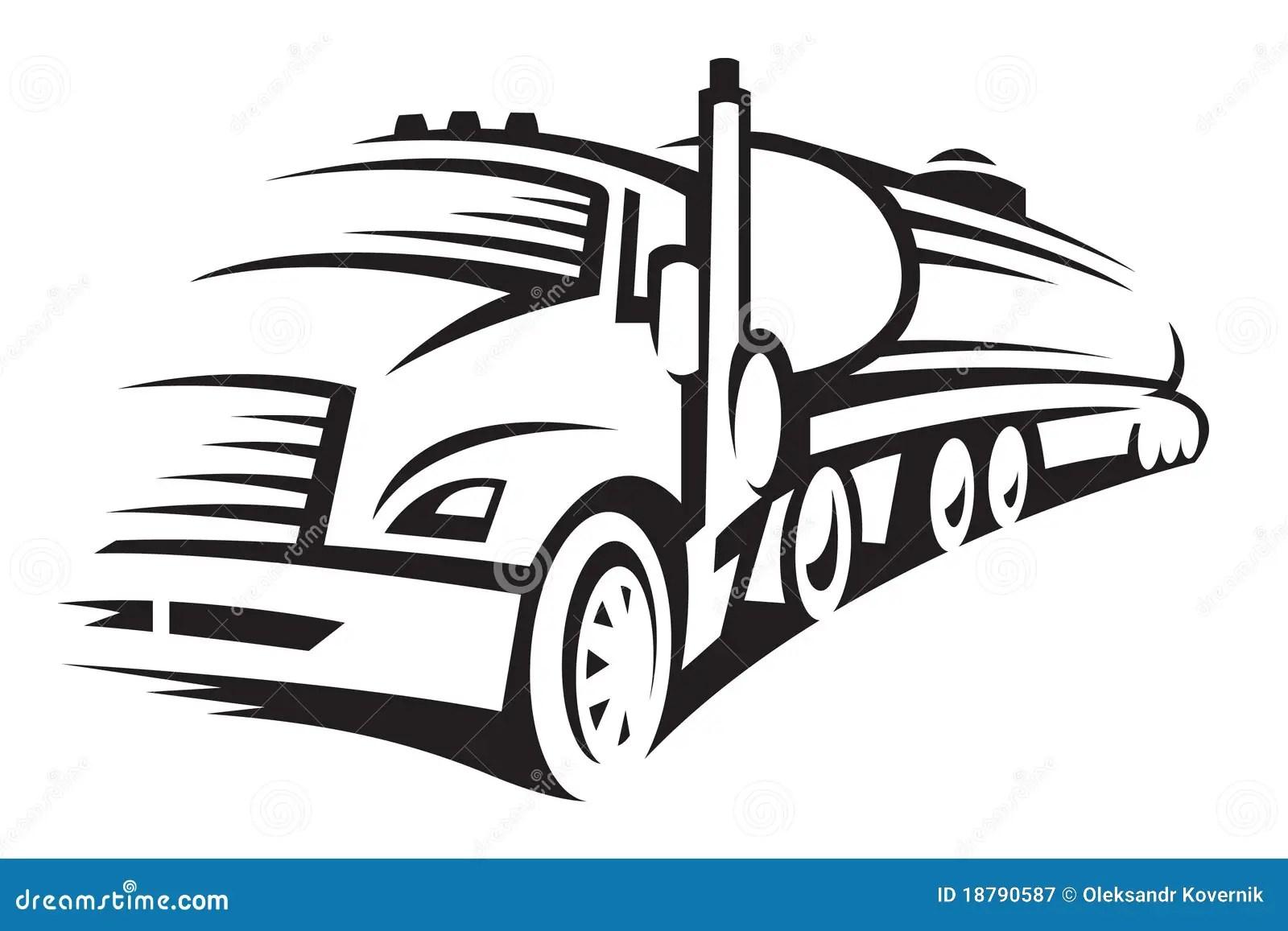Semi Trailer Fuel Tanker, Semi, Free Engine Image For User