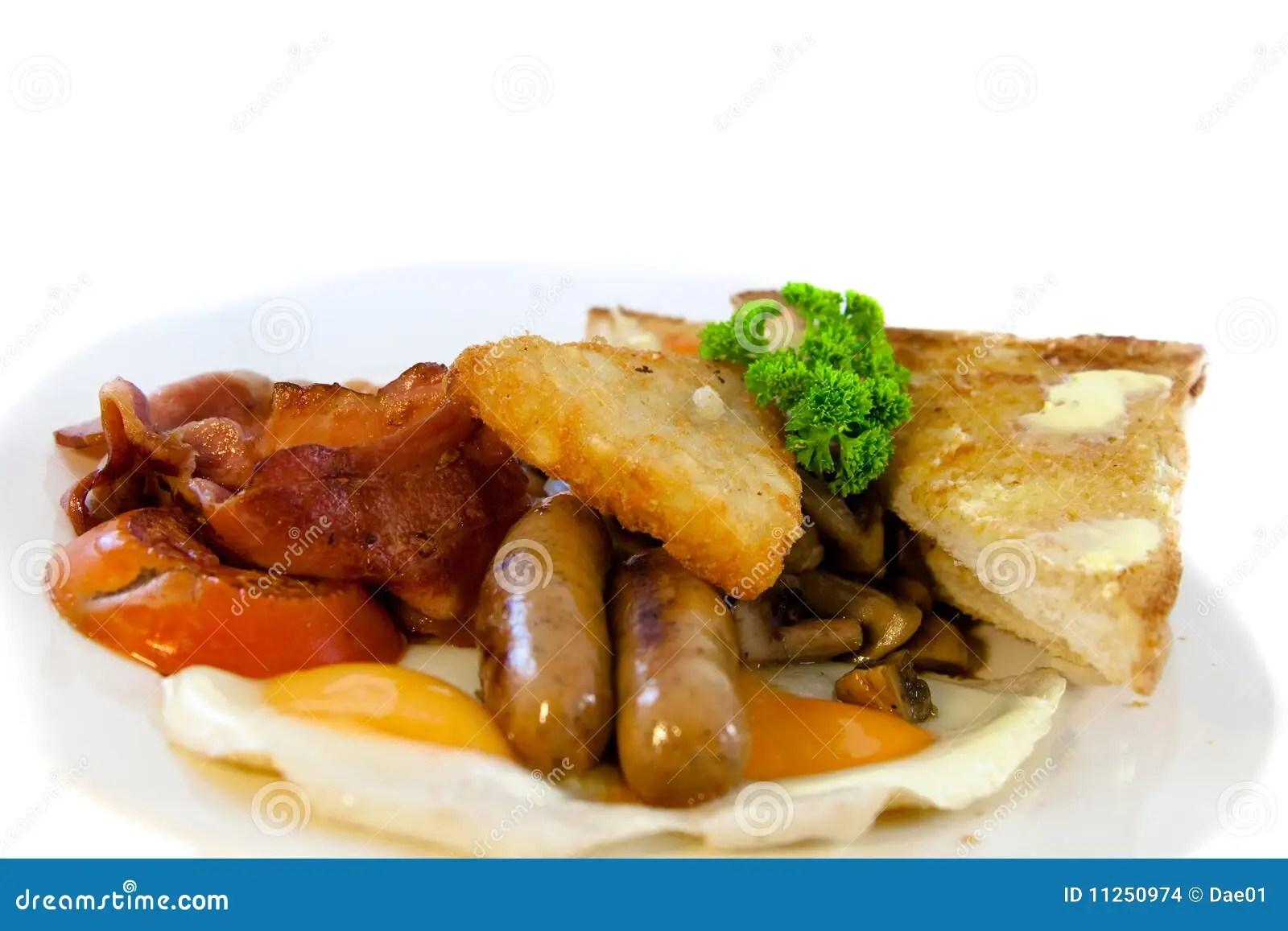 Full australian breakfast stock photo. Image of isolated - 11250974