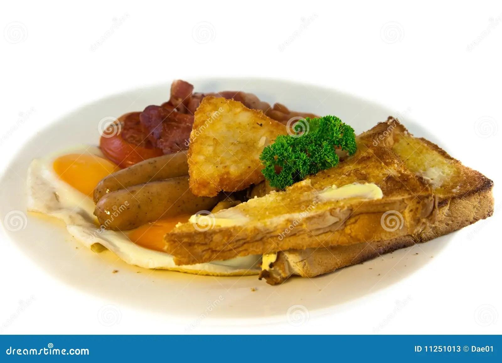 Full australian breakfast stock image. Image of pork - 11251013
