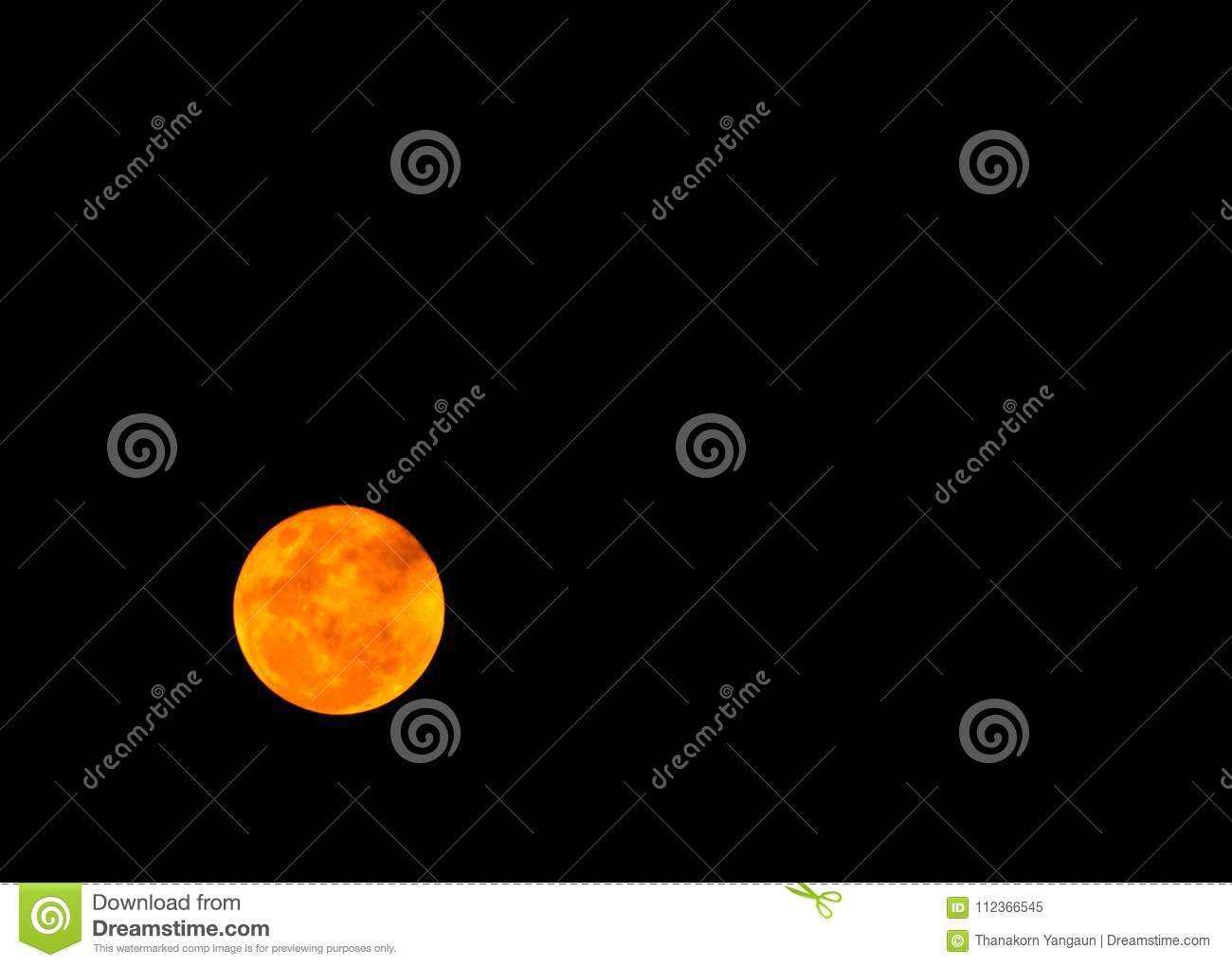 full moon in the