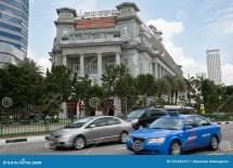 Fullerton Hotel In Singapore Editorial Stock