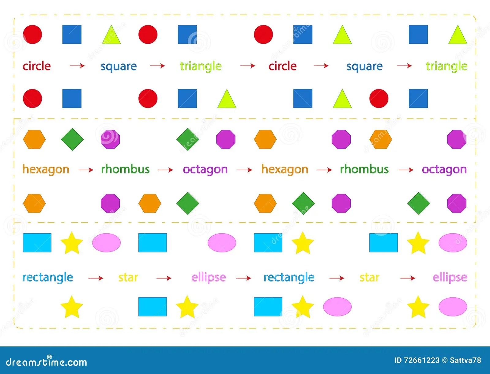 Fun Brain Games For Kids Stock Vector Illustration Of