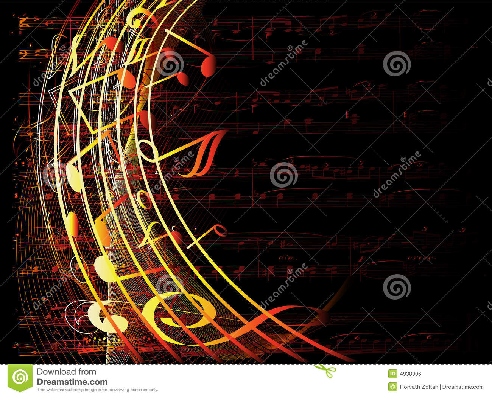 3d Dj Wallpaper Free Download Fundo Musical Ilustra 231 227 O Do Vetor Ilustra 231 227 O De Quente