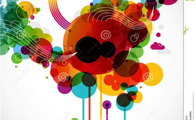 Funky Graphic Design Stock Vector Illustration Of
