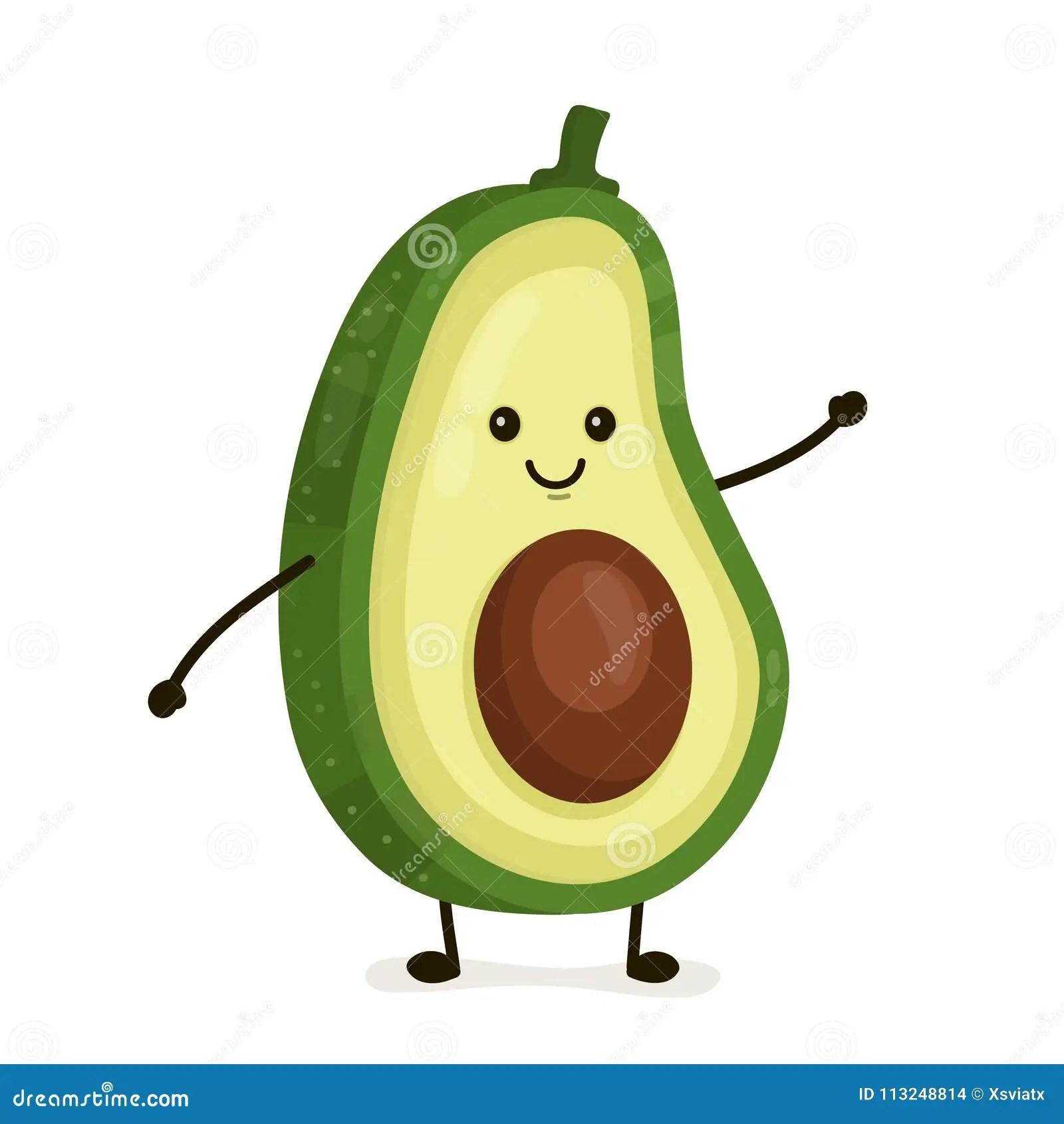 Avocado Cartoons Illustrations Amp Vector Stock Images