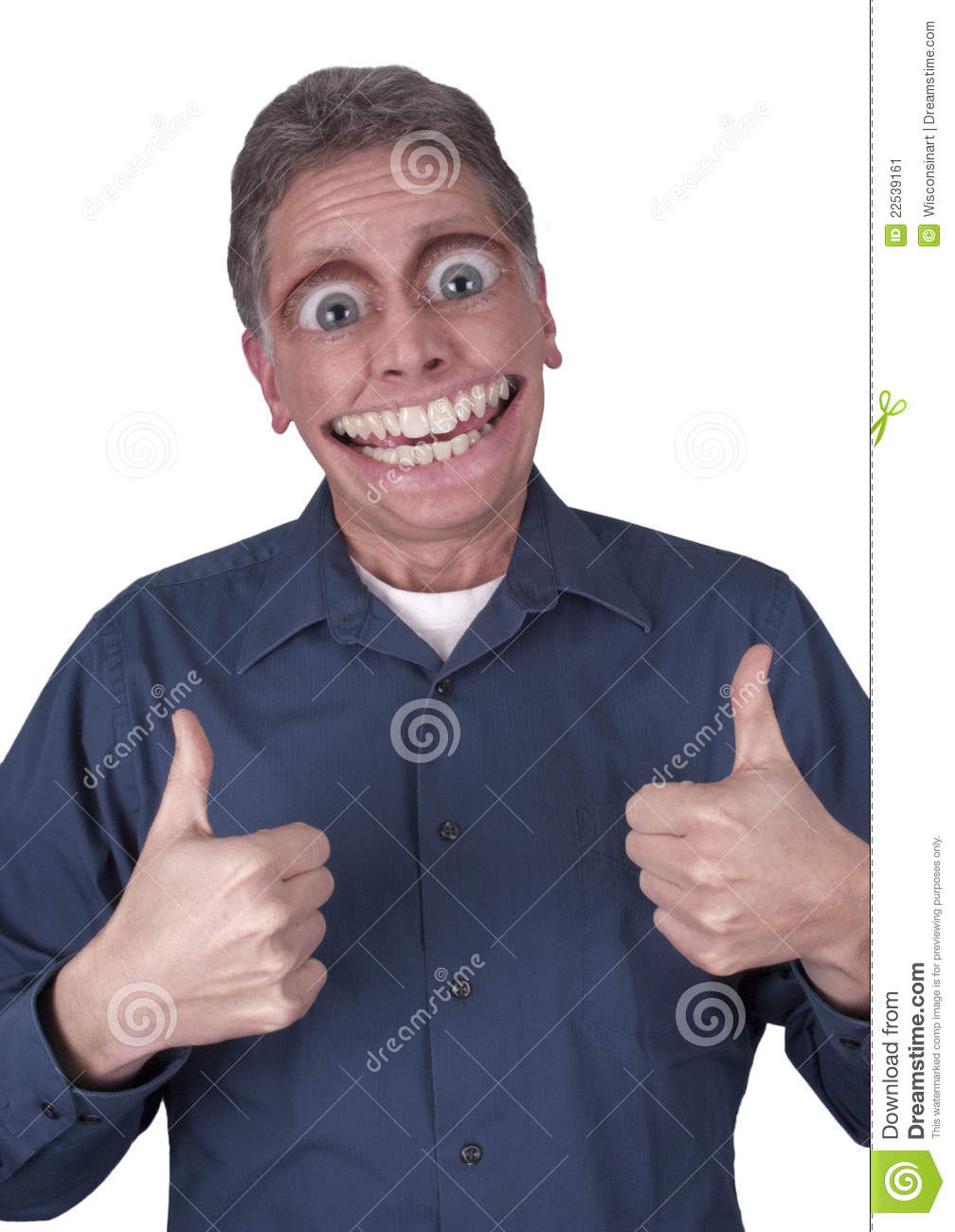 Funny Guy With Big Eyes : funny, Funny, Happy, Smile, Stock, Image, Happy,, Male:, 22539161