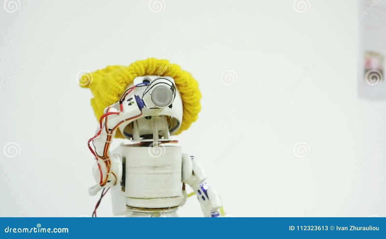 robot drinks alcohol