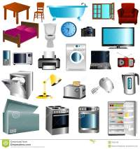 Furniture And Appliances Royalty Free Stock Image - Image ...