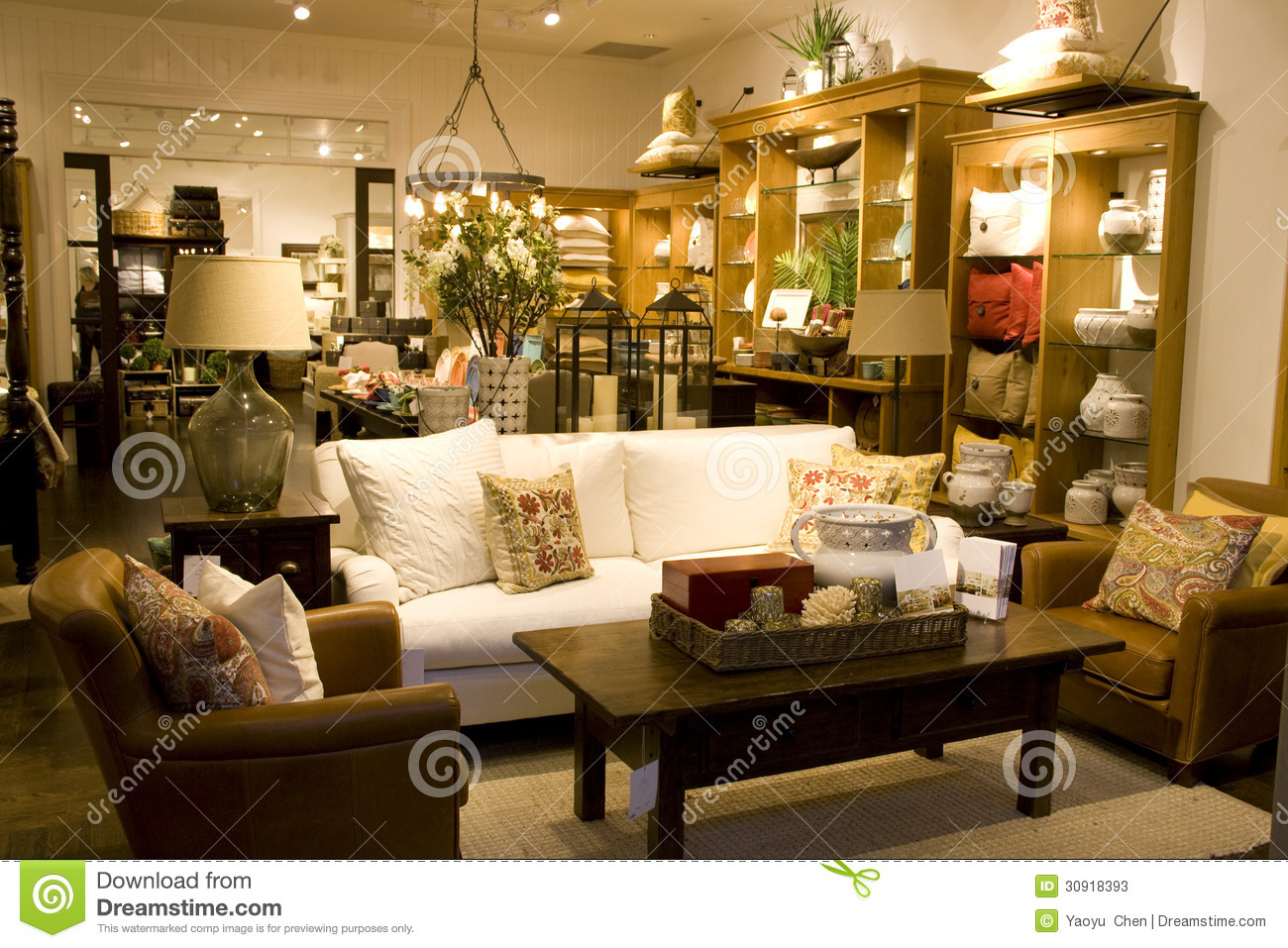 Furniture And Home Decor Store Stock Photos Image 30918393 Store