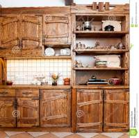Furniture For Kitchen In Country Style Stock Photography ...