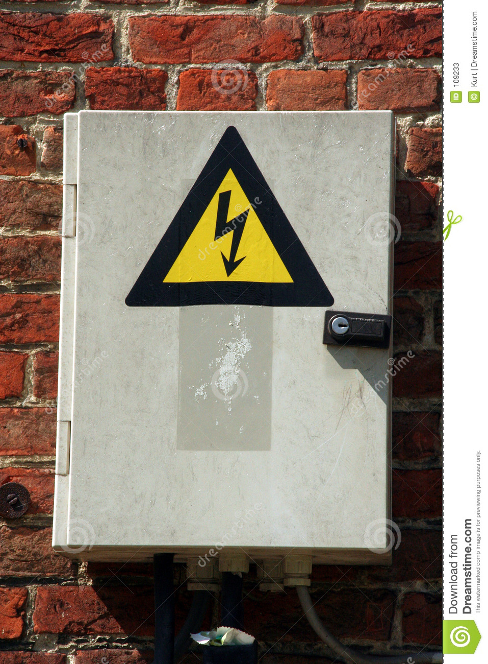 Fuse Box Stock Image Image Of Sticker Electrical