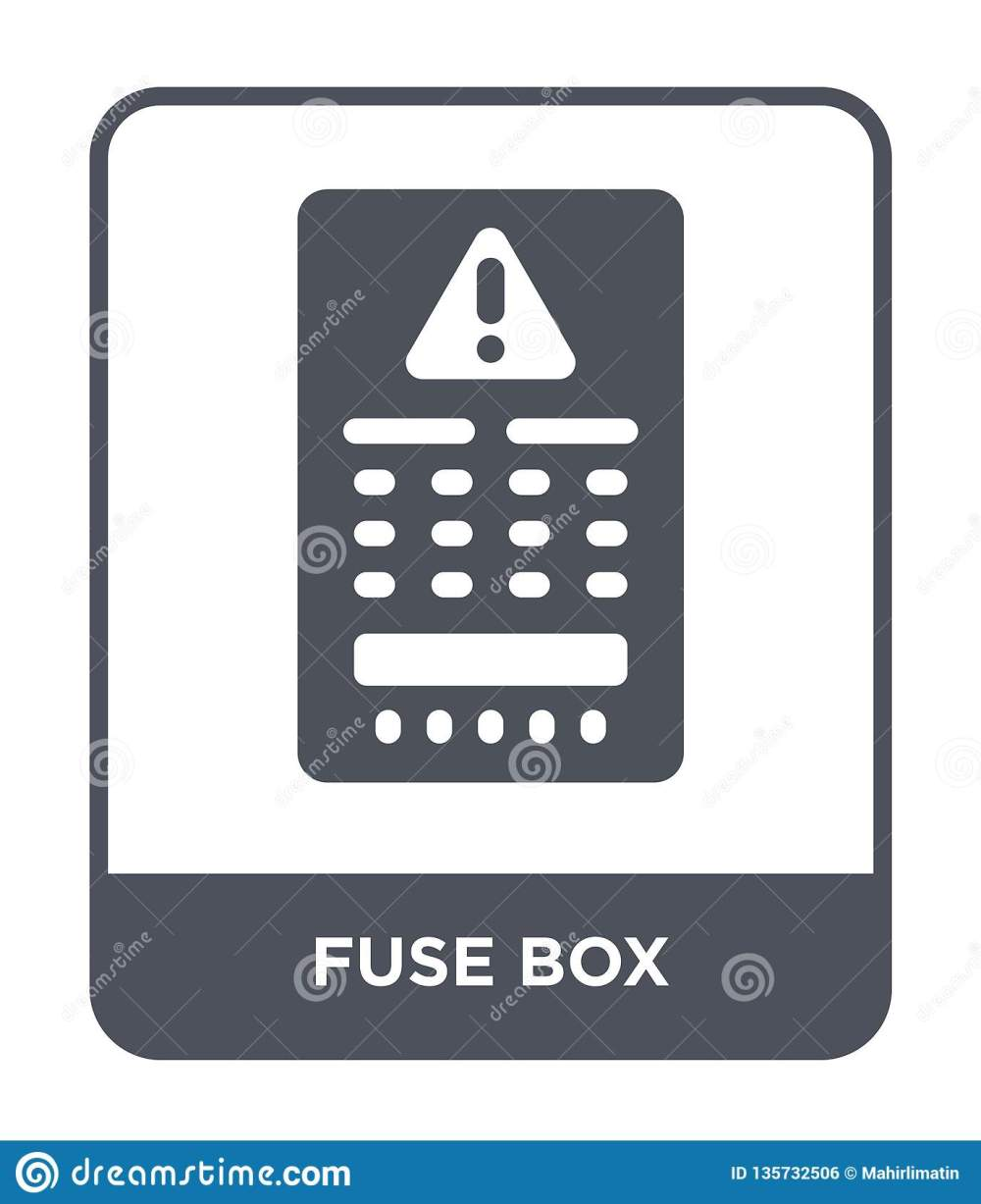 medium resolution of fuse box icon in trendy design style fuse box icon isolated on white background fuse box vector icon simple and modern flat symbol for web site mobile