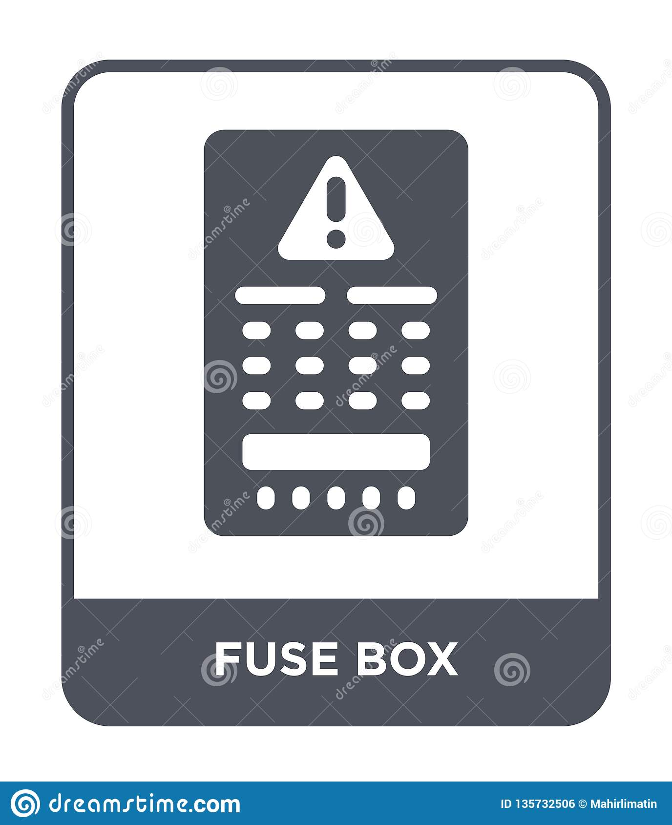 hight resolution of fuse box icon in trendy design style fuse box icon isolated on white background fuse box vector icon simple and modern flat symbol for web site mobile