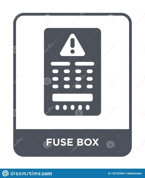 small resolution of fuse box icon in trendy design style fuse box icon isolated on white background fuse box vector icon simple and modern flat symbol for web site mobile