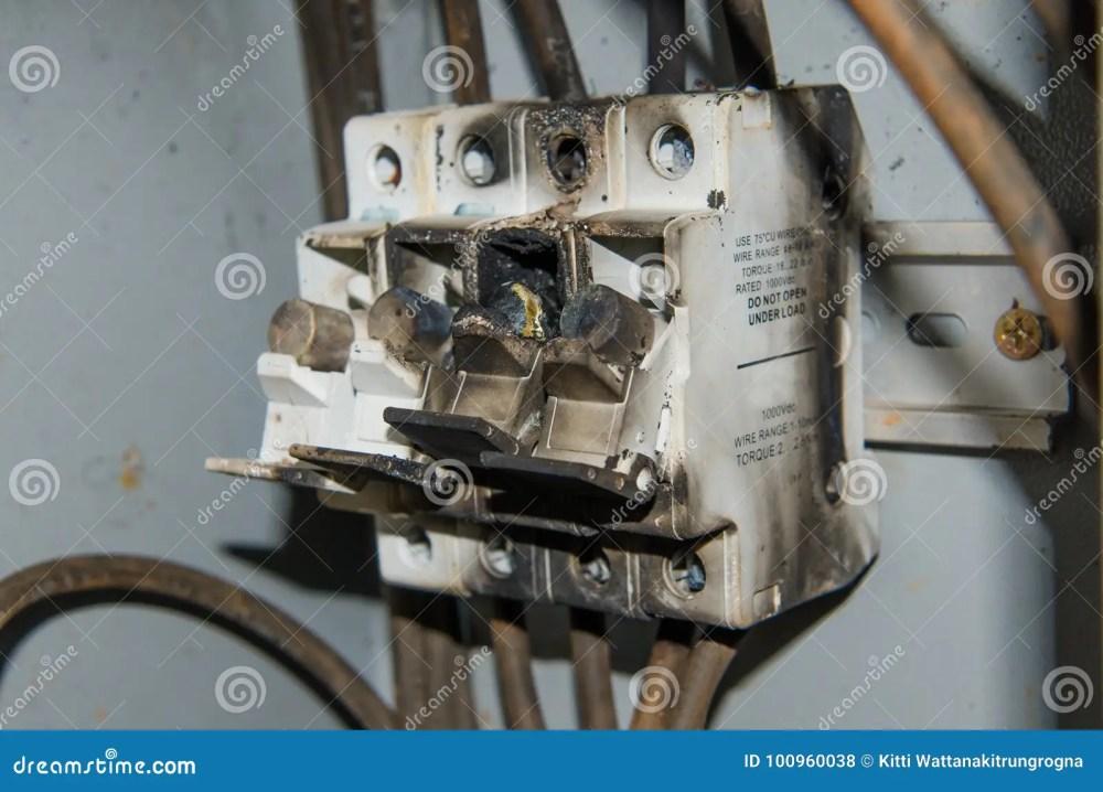medium resolution of fuse high power voltage electronic box burn fire stock photo imagefuse high power voltage electronic box