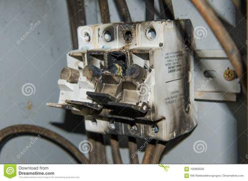 small resolution of fuse high power voltage electronic box burn fire
