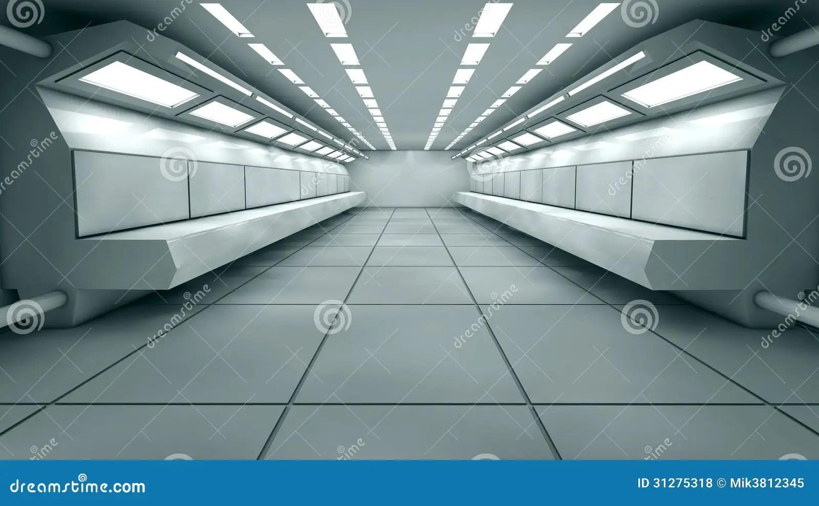Futuristic Interior Royalty Free Stock Photos  Image 31275318