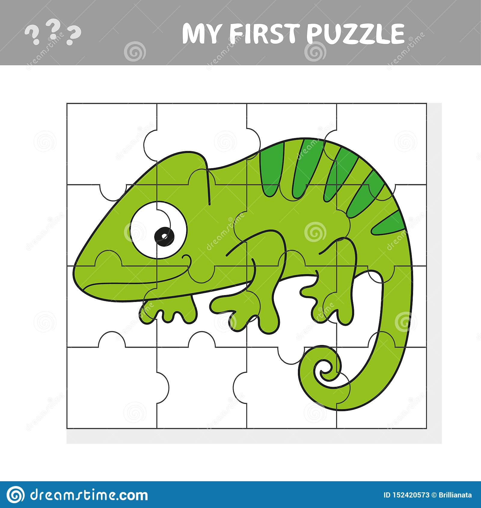 Game For Kids Activity Page Puzzle For Children