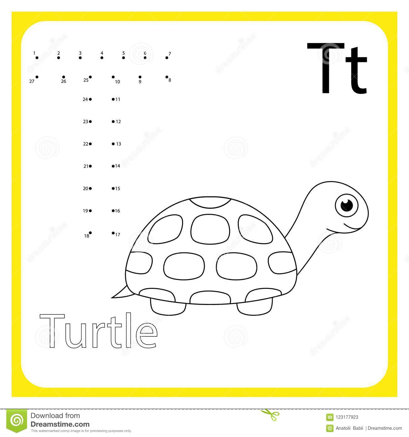 Learning Alphabet Worksheet Learning A Letter Painting
