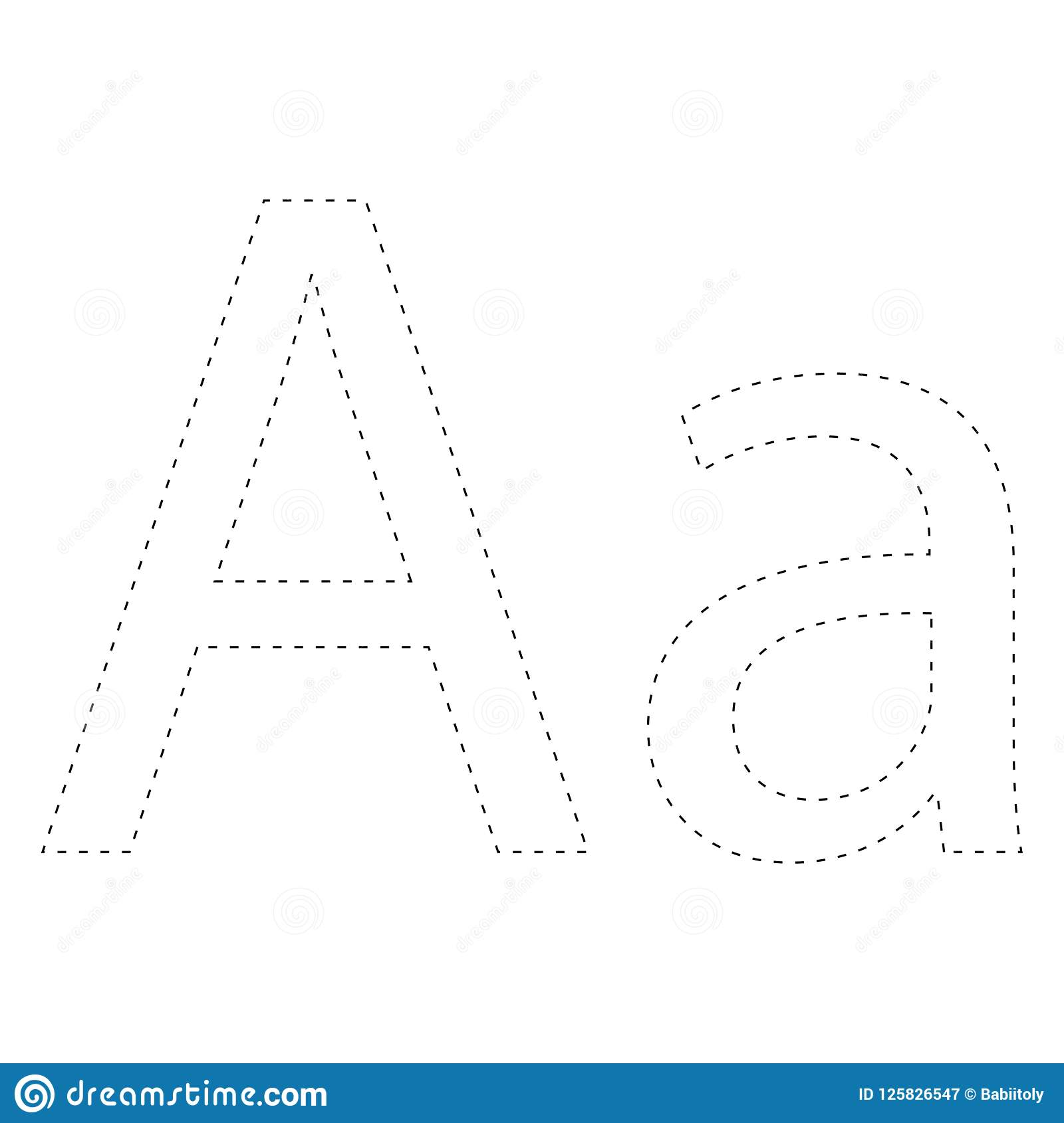Learning Alphabet Letter Worksheet Learning Alphabet