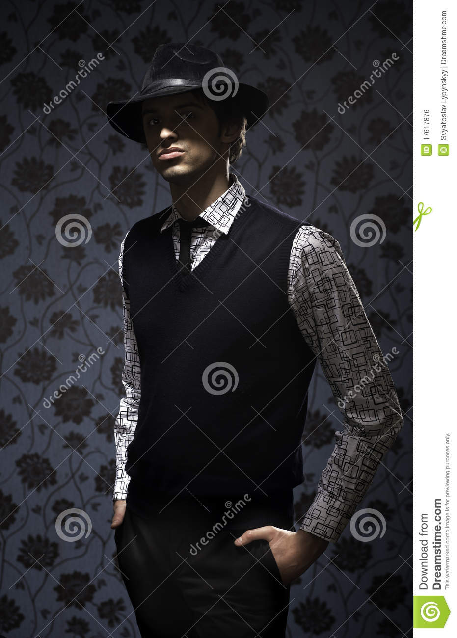 Cute Boy Wallpaper Free Download Gangster In Dark Key On Wallpapers Background Stock Photo