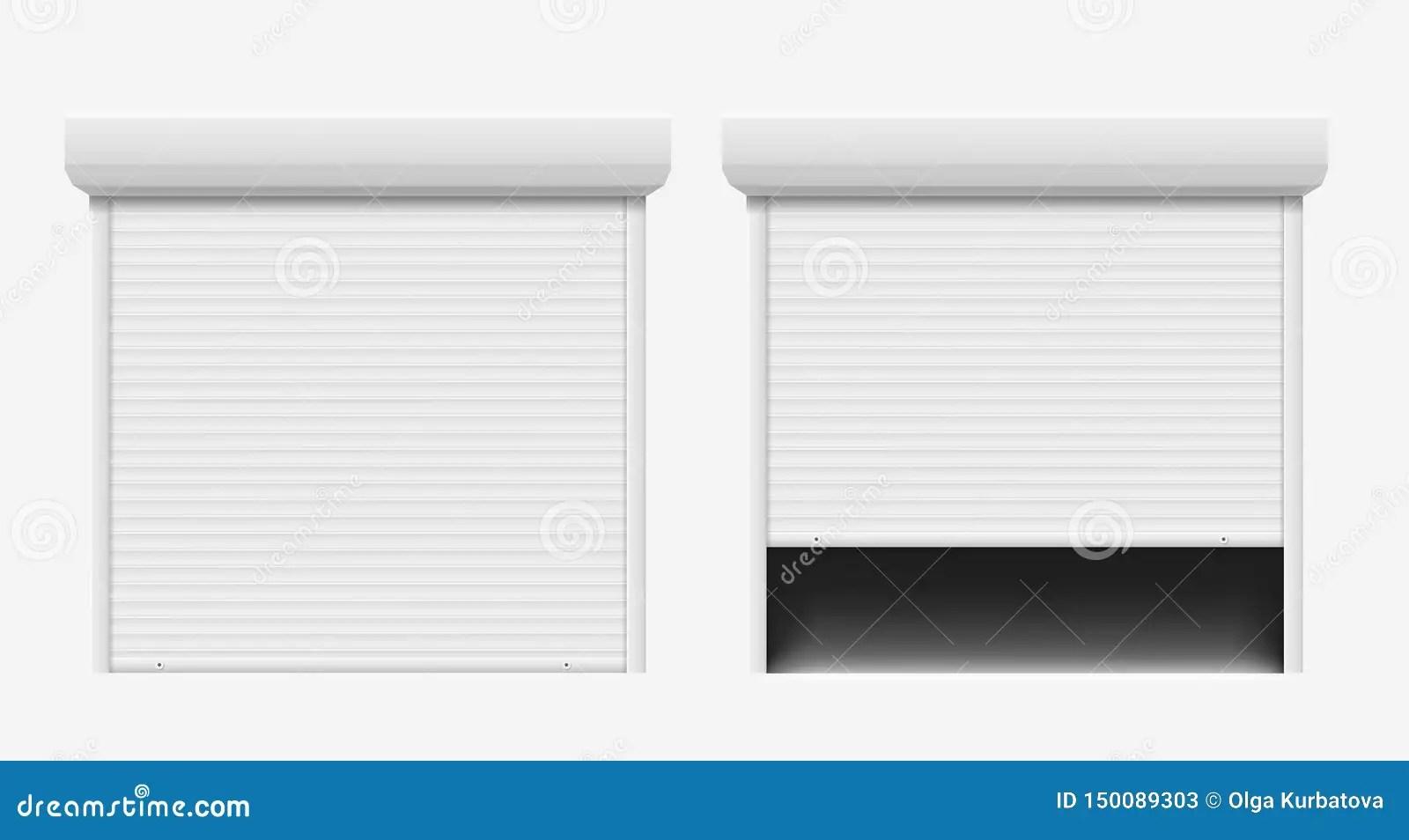 Garage Door Automatic Construction Door Aluminum Shutter